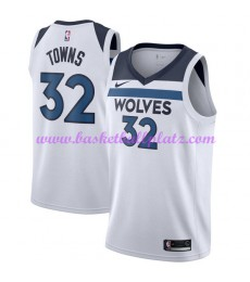 Minnesota Timberwolves Trikot Herren 2018-19 Karl Anthony Towns 32# Association Edition Basketball T..